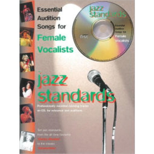 Essential Audition Songs for Female Vocalists -- Jazz Standards: Book & CD