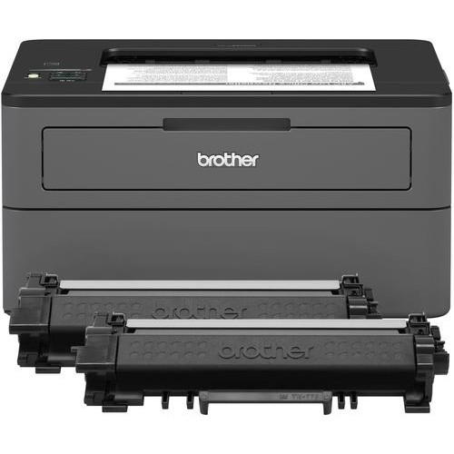 Brother - HL-L2370DW XL Wireless Black-and-White Printer - Gray