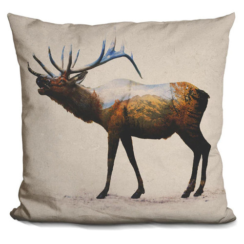 Davies Babies 'Rocky Mountain Elk' Throw Pillow