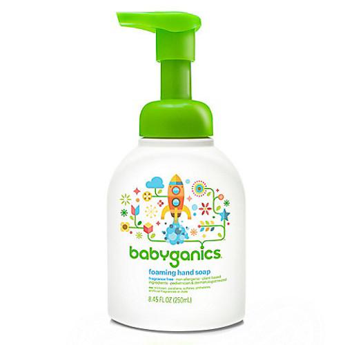 Babyganics 8.45 oz. Fragrance-Free Foaming Hand Soap