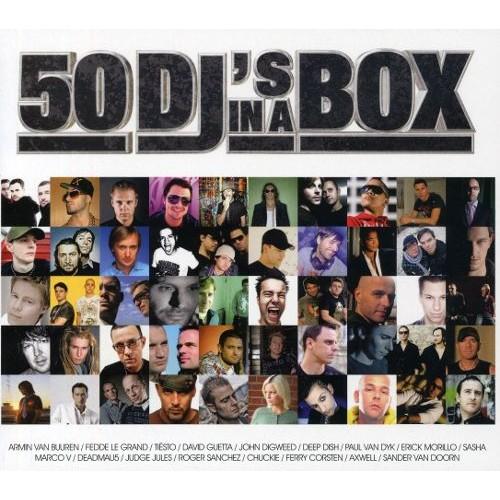 50 DJ's in a Box [CD]