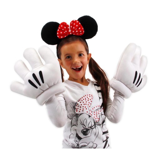 Disney Minnie Ears and Gloves Set - One Size