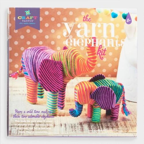 The Yarn Elephants Crafting Kit