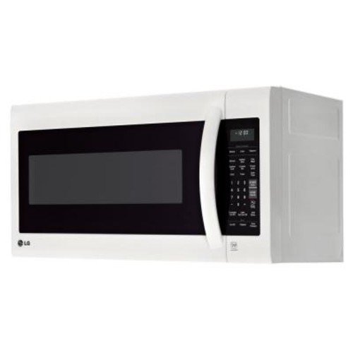 LG Electronics 2.0 cu. ft. Over the Range Microwave in Smooth White with EasyClean