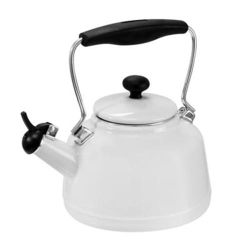 Chantal 2 Qt. Vintage Tea Kettle; White