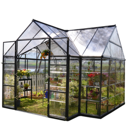 Palram Silver Snap and Grow Greenhouse (8' x 16')
