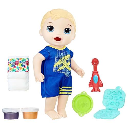 Baby Alive Super Snacks Snackin' Blonde Luke Baby Doll
