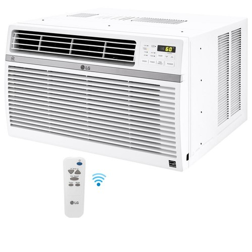 LG Electronics 10,000 BTU Window Smart (Wi-Fi) Air Conditioner with Remote, ENERGY STAR