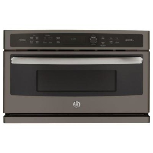 GE Profile 30 in. Single Electric Wall Oven with Advantium Technology in Slate