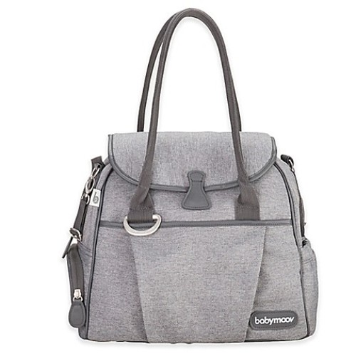 babymoov Style Diaper Bag in Smokey