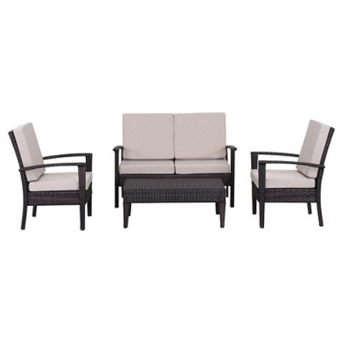 Myers Outdoor Set (4 PC) by Safavieh