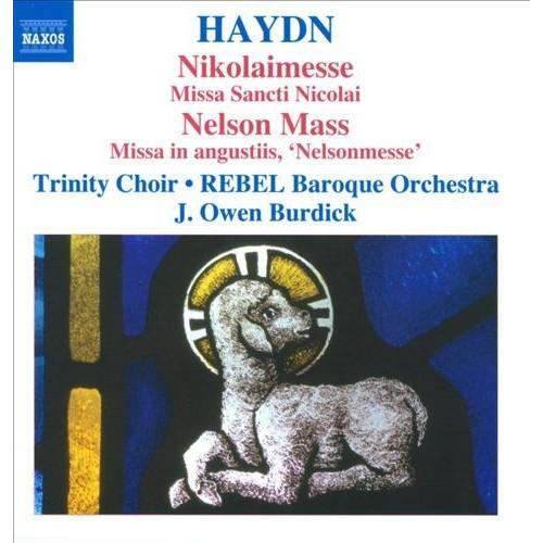 Haydn: Nikolaimesse; Nelson Mass [CD]