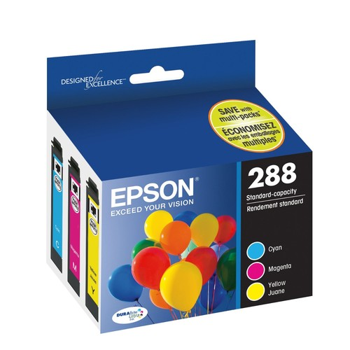 Epson T288520 DURABrite Ultra Color Combo Pack Standard Capacity Cartridge Ink [Color Combo Pack]