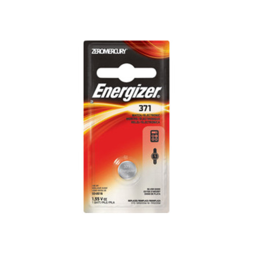 Energizer 371BPZ Ener 1.5V Watch Battery, Pack of 6