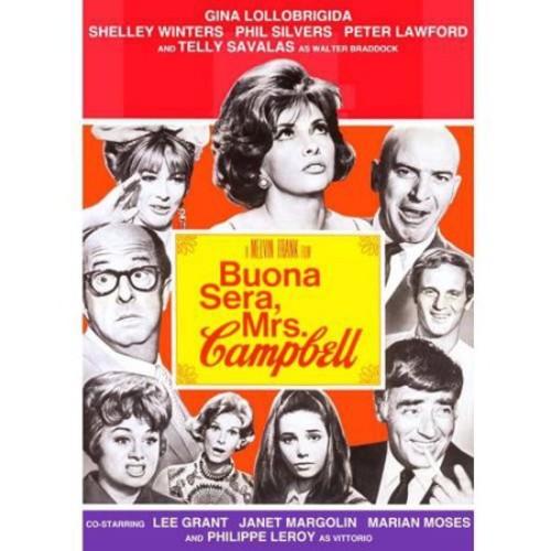 Buona Sera, Mrs. Campbell [DVD] [1968]
