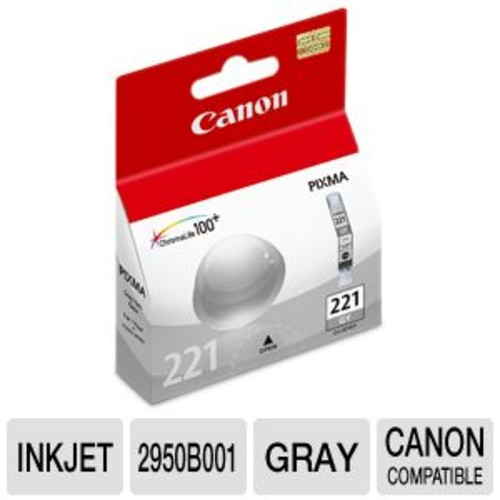 2950B001 (CLI-221) Ink, Gray