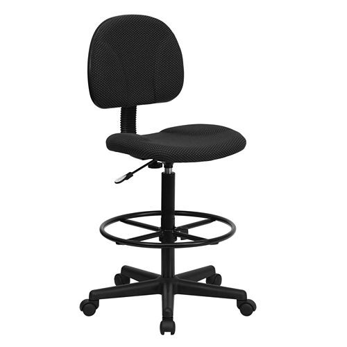 Fabric Drafting Chair (Cylinders: 22.5''-27''H or 26''-30.5''H)