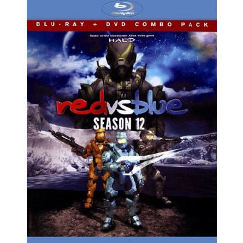 Red vs. Blue: Season 12 [2 Discs] [Blu-ray/DVD]