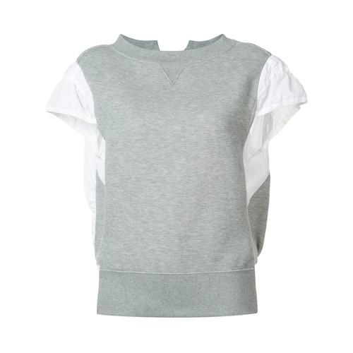 SACAI Sweatshirt Body T-Shirt