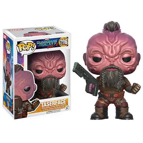 Funko POP! Movies: Guardians of the Galaxy Volume 2 3.75 inch Vinyl Figure - Taserface