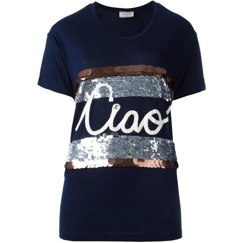 LANVIN Ciao Appliqué T-Shirt