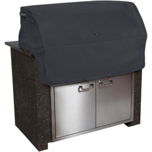 CLASSIC ACCESSORIES RAVENNA PATIO BUILT IN BBQ GRILL TOP COVER, MEDIUM