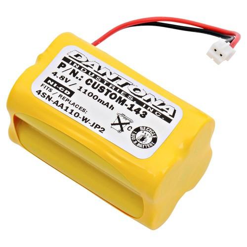 ULTRALAST GREEN Dantona 4.8-Volt 1100 mAh Ni-Cd battery for Summer Infant Baby monitor