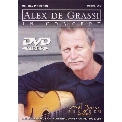 Alex Degrassi in Concert [DVD]