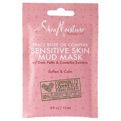 SheaMoisture Peace Rose Complex Facial Mask Packettes - 0.5 oz