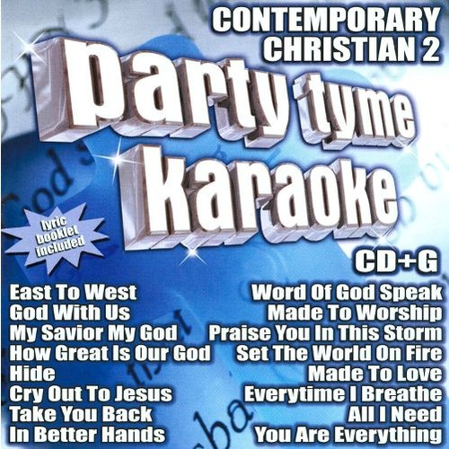 Party Tyme Karaoke: Contemporary Christian, Vol. 2 [CD]