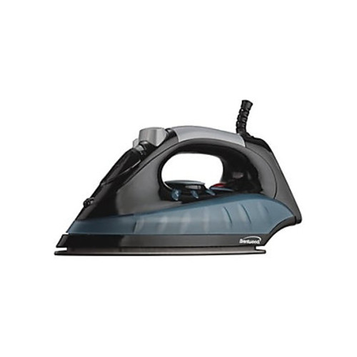 Brentwood Non-Stick Steam/Dry, Spray Iron in Black (MPI-62)
