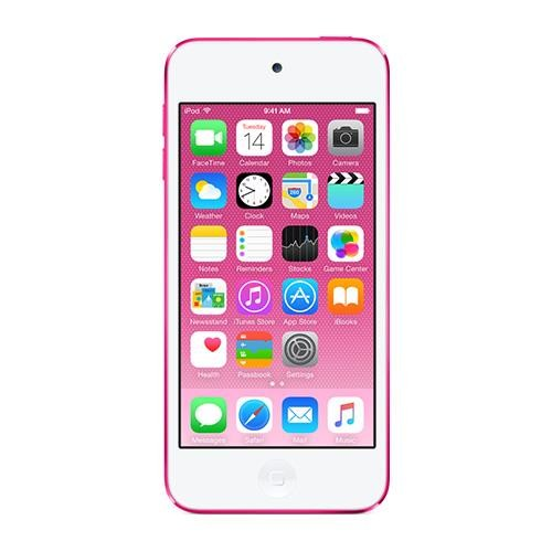Apple New iPod touch 32GB Pink (6th Generation) with Engraving (MKHQ2LL/A)