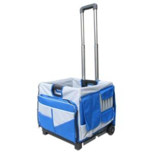 Pack-N-Roll 17 in. 48-Pocket Foldable Cart