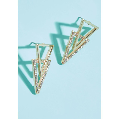 Geo Gleam Earrings