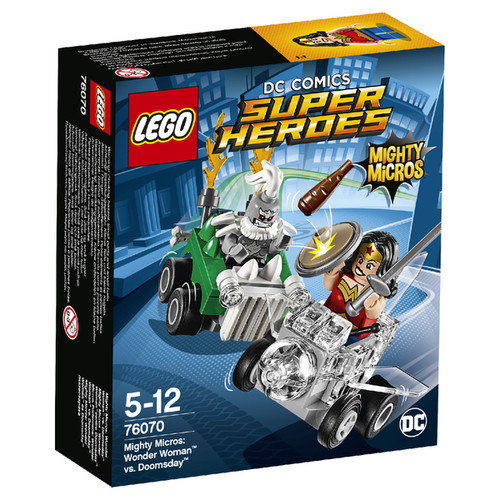 LEGO Superheroes Mighty Micros: Wonder Woman vs. Doomsday (76070)