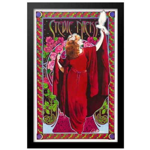 Concert poster designed for Stevie Nicks