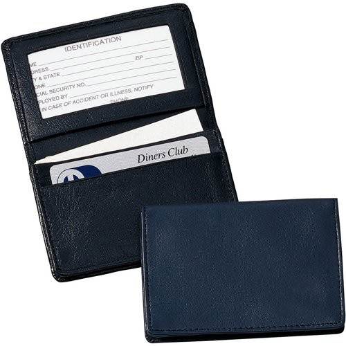Royce Leather Executive Card Case Holder in Genuine Leather
