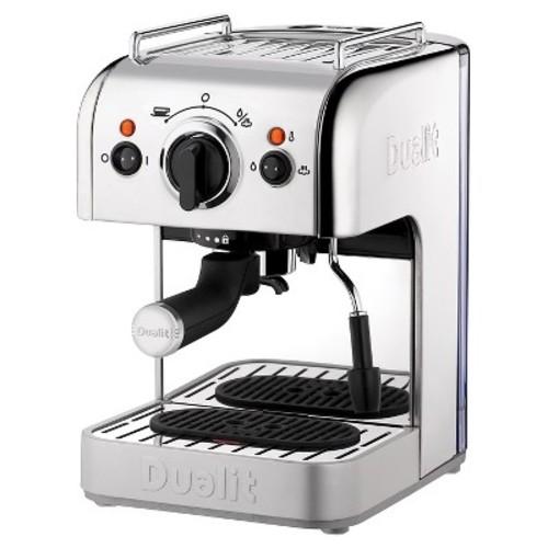 Dualit 3-in-1 Espresso Maker - Polished Chrome