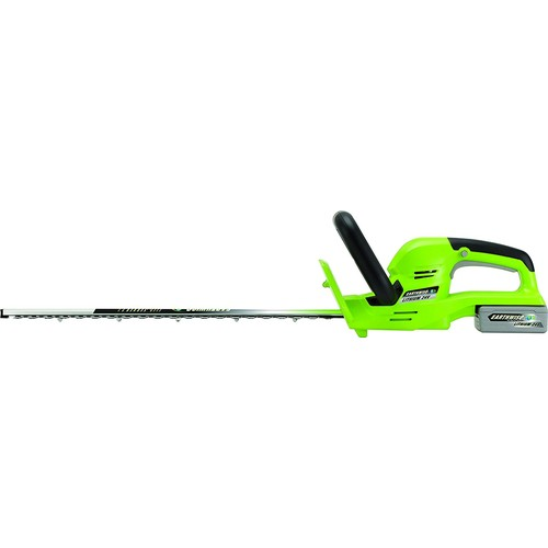 Earthwise LHT12422 22-Inch 24-Volt Lithium Ion Cordless Electric Hedge Trimmer [22-Inch, 24-Volt Cordless]