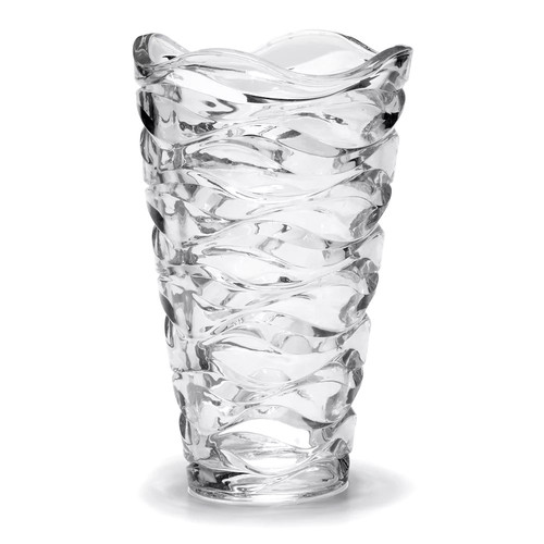 Mikasa Atlantic 10.2-in. Crystal Vase