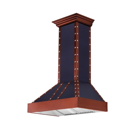 ZLINE Kitchen and Bath ZLINE 30 in. 900 CFM Wall Mount Range Hood in Oil-Rubbed Bronze and Copper