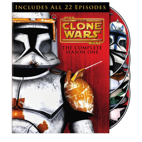 Star Wars: The Clone Wars - The Complete Season One [4 Discs] [DVD]
