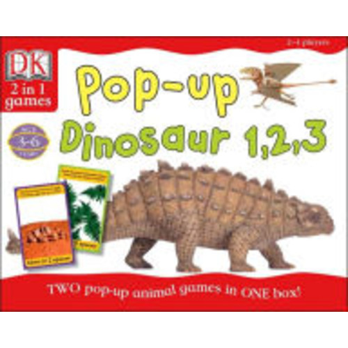 Pop Up Dinosaur 123