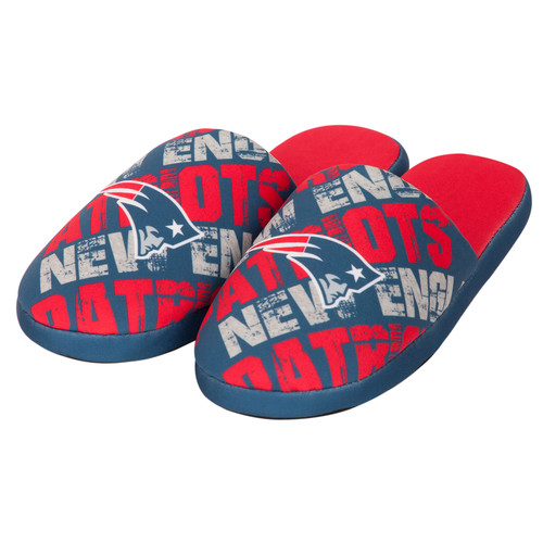 NFL Kids Graphic Slippers - New England Patriots