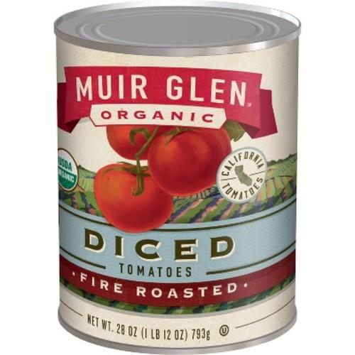 Muir Glen Organic Diced Fire Roasted Tomatoes 28oz