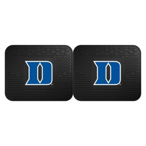 Fanmats 13218 Duke University Blue Devils Rear Second Row Vinyl Heavy Duty Utility Mat, (Pack of 2)