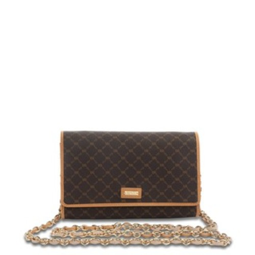Rioni Signature 'The Everyday' Brown Clutch - Brown