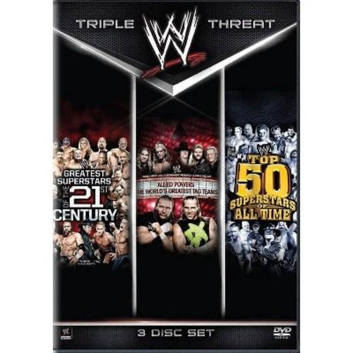 WWE: Triple Threat [3 Discs] [DVD]