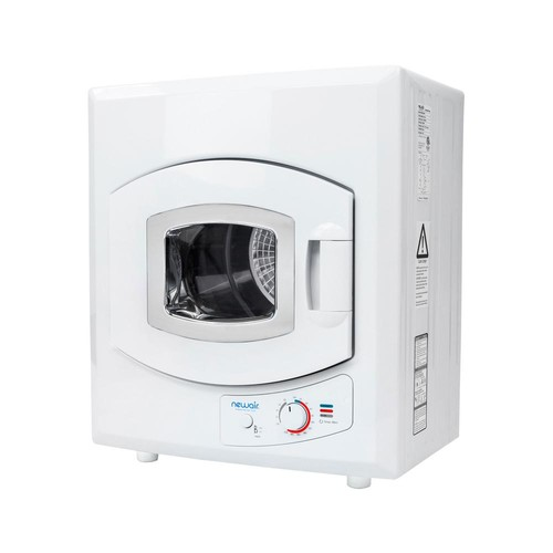 Air Portable 3.6 cu. ft. Compact Electric Mini Dryer in White