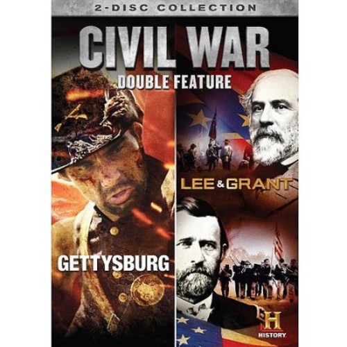 Civil War Double Feature: Gettysburg / Lee & Grant